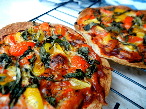 Homemade Pizza ~ via The EGG