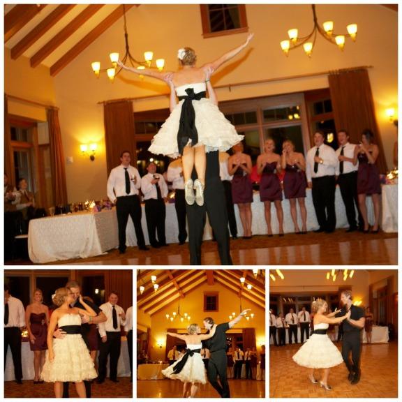 Ceremony Vs Reception Dress: Northern California Pink And Purple Wedding
