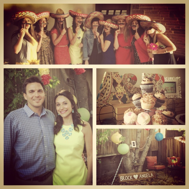Fiesta Bridal Shower ~ via The EGG