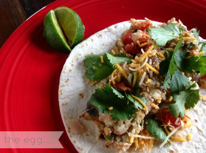 Delicious breakfast tacos done right - The EGG