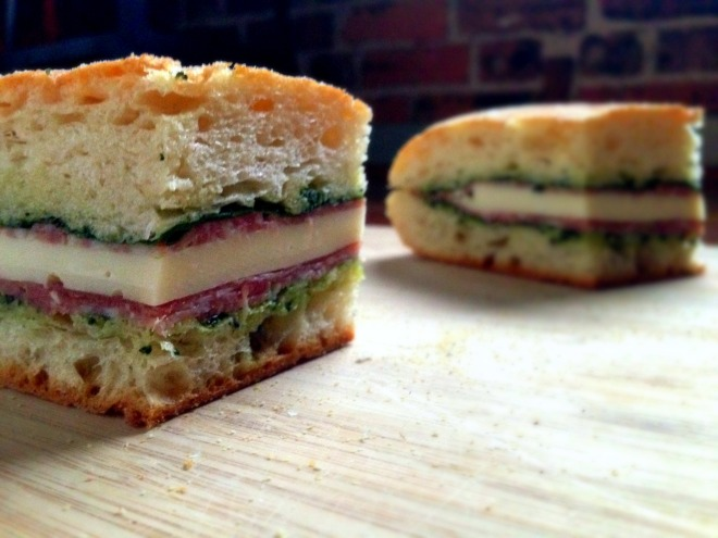 Delicious cold pressed Italian sandwich recipe - The EGG